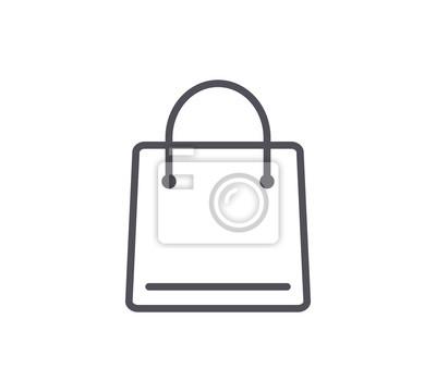 Ikony Zakupy Bag Line