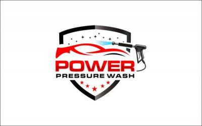 Naklejka Illustration vector graphic of pressure power wash spray logo design template-05