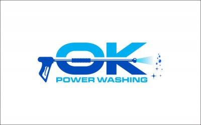 Naklejka Illustration vector graphic of pressure power wash spray logo design template-26