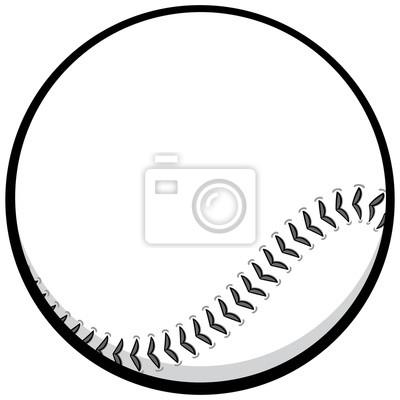 Ilustracja Baseball Ikonę