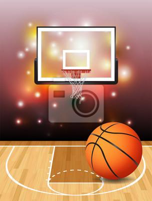 Ilustracja Koszykówka