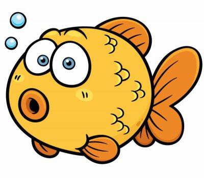 Naklejka Ilustracja wektora Goldfish