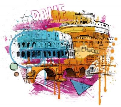 Naklejka Inside Rome