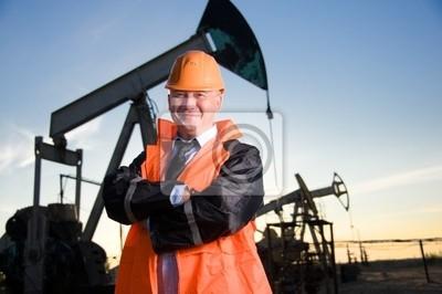 Inżynier w polu naftowym