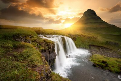 Naklejka Islandia