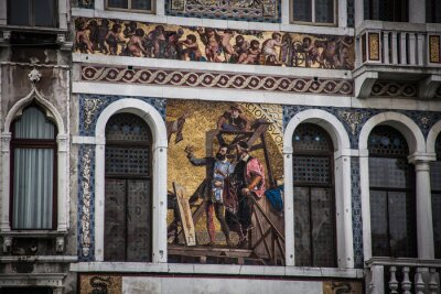 Italy, Venice historical tourism town near the sea