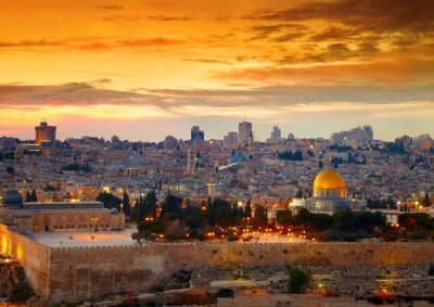 Naklejka Izrael