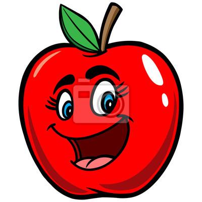 Jabłko Cartoon