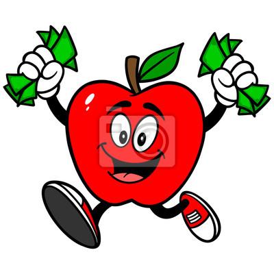 Jabłko z pieniędzy