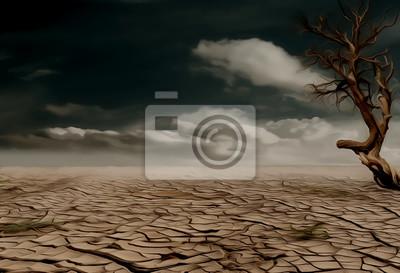 Naklejka Jałowe pustyni