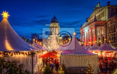 Naklejka Jarmark Bożonarodzeniowy w Berlinie