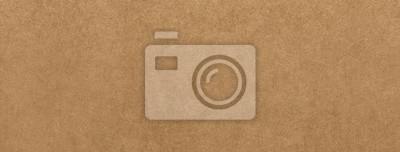 Naklejka Jasnobrązowy papier pakowy tekstury transparent tło