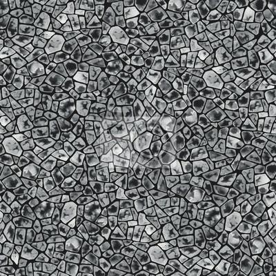 Jednolite wzór, akwarela abstrakcyjna tekstury w kolorze białym i czarnym. Elementy na czarnym tle.