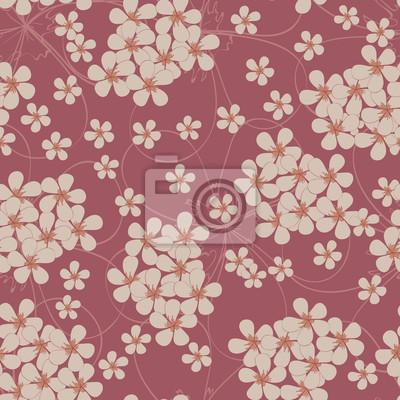 Jednolite wzór z małych kwiatów. Floral tekstylne
