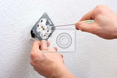jego zastosowanie ściany elektryk gniazdo