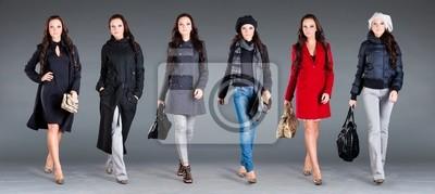 Jesień Kolekcja ubrania damskie