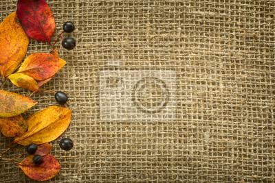 Jesień w tle