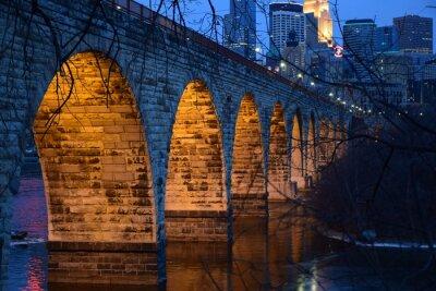 Naklejka Kamień Arch Bridge
