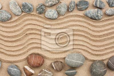 Kamień z piasku jako tło