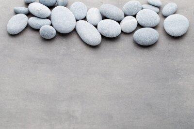 Naklejka Kamienie Spa scena leczenia, jak zen koncepcji.