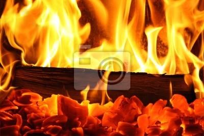 Kaminfeuer I