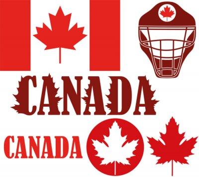 Naklejka Kanada
