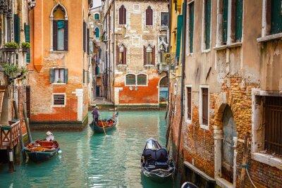 Naklejka Kanał w Wenecji