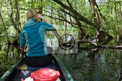 Kanutour durch die Wildnis