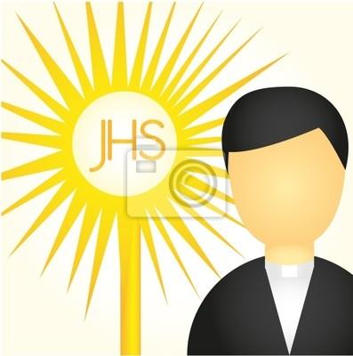 Kapłan i Najświętszego Sakramentu