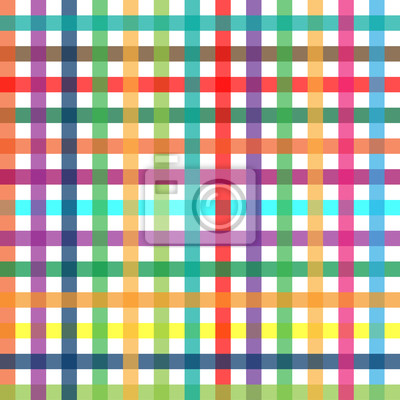 Karo Muster farbig - endlos