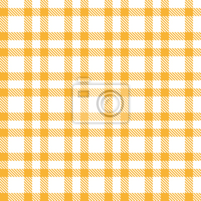 Karo Muster gelb - endlos
