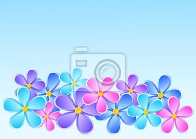 Kartkę z życzeniami z kwiatem papieru.