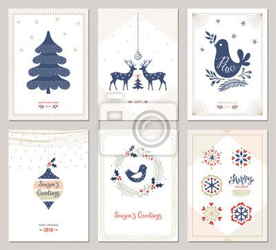 Kartki okolicznościowe ferie zimowe. Ilustracji wektorowych.