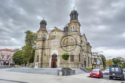 Naklejka Katedra św. Cyryla i Metodego, Burgas (Bułgaria)