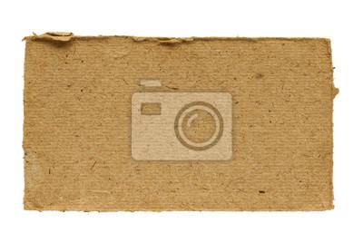Kawałek starego kartonu