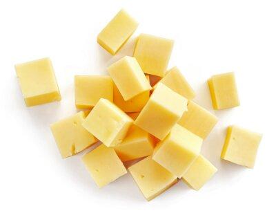 Naklejka Kawałki sera