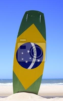 Naklejka Kitesurfing w Brazylii