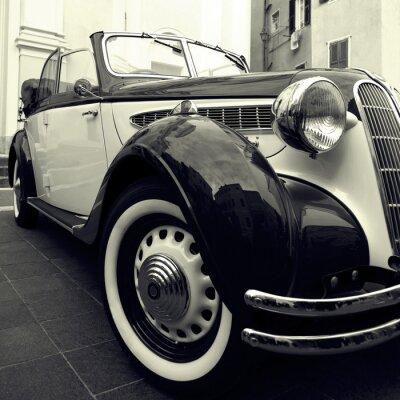 Naklejka Klasyczny samochód
