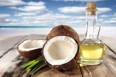 Naklejka kokosy