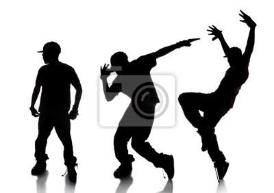 Kolejność Hip hop dancer