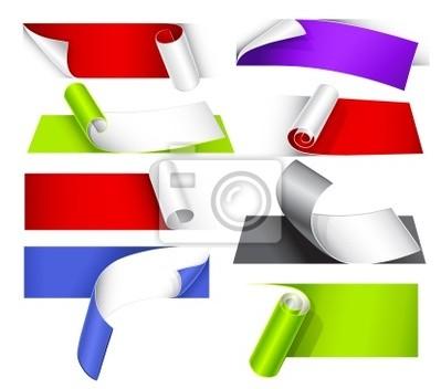 Kolekcja kolorowych dokumentów z dyni