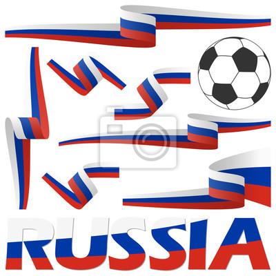kolekcja rosyjskich piłkarskich banerów