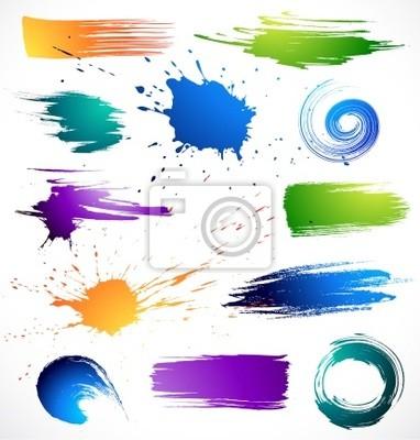 Kolor paints.Grungy