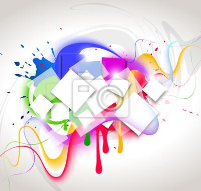 Kolor tła. Ilustracja wektorowa