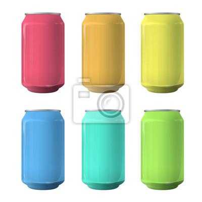 Kolorowe cyny. Vector design