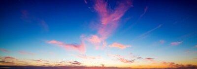 Kolorowe niebo nad Pacific Beach