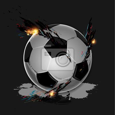 Kolorowe powitalny piłka nożna
