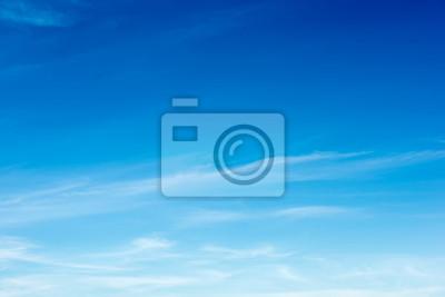Naklejka Kolorowy Piękny niebieskie niebo z obłocznym formaci tłem