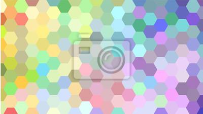 Kolorowy wzór geometryczny.