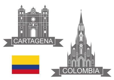 Naklejka Kolumbia